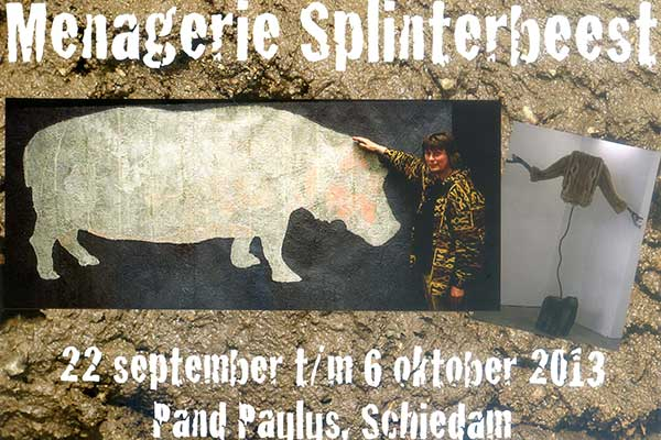 Uitnodiging Menagerie Splinterbeest 2013